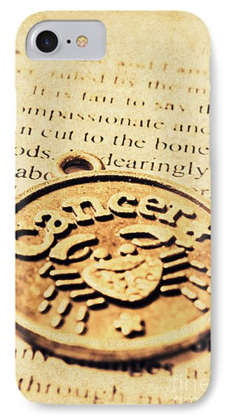 Cancer Star Sign Art IPhone Case by Jorgo Photography - Wall Art Gallery