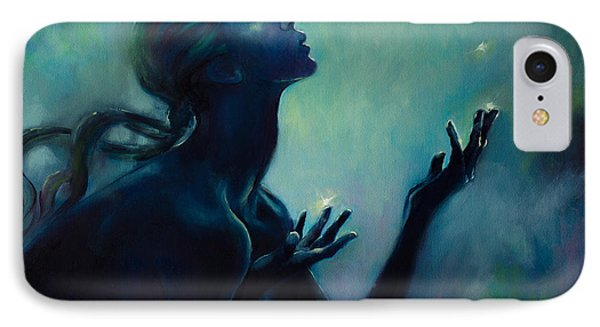 Cancer Zodiac Sign IPhone Case by Dorina  Costras