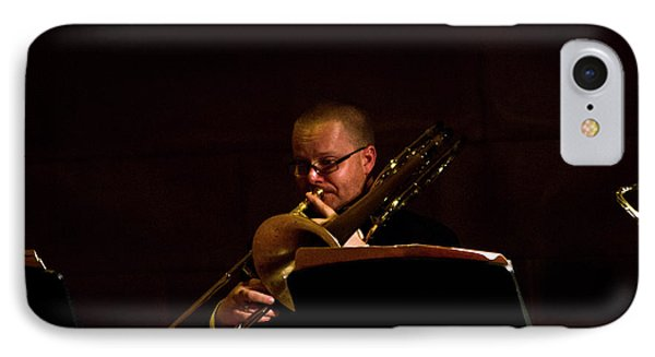IPhone Case featuring the photograph Cancon Primi Toni - Trombone by Miroslava Jurcik