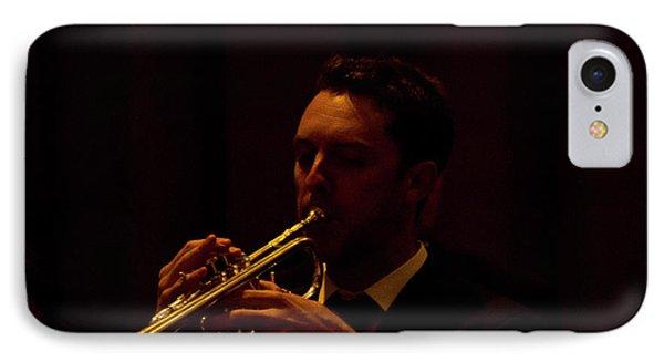 IPhone Case featuring the photograph Cancon Primi Toni - Trumpet by Miroslava Jurcik