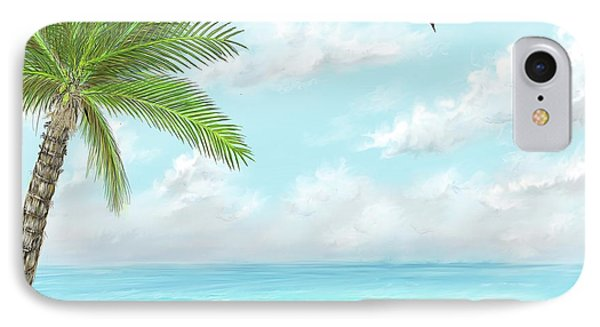 IPhone Case featuring the digital art Cancun At Christmas by Darren Cannell