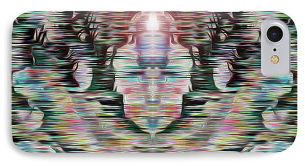 IPhone Case featuring the digital art Alignment by Mark Greenberg