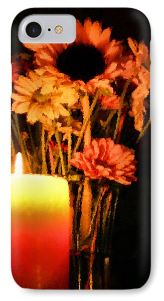 Candle Lit Phone Case by Kristin Elmquist