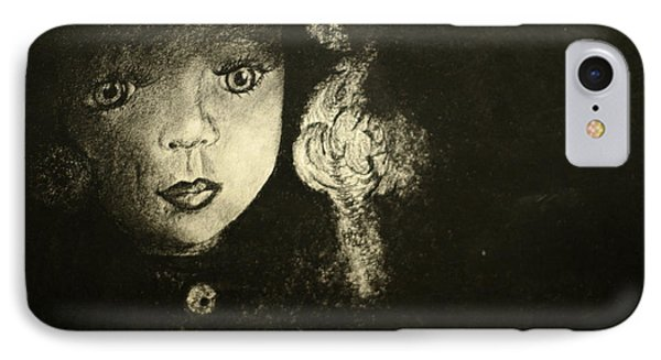 IPhone Case featuring the painting Candlelight by Jane Autry