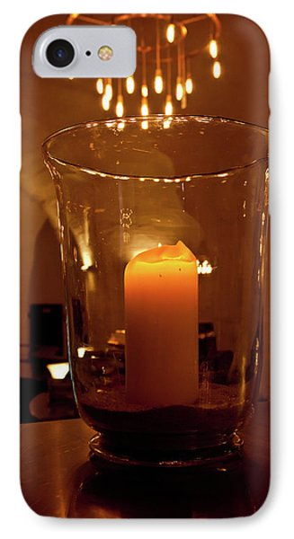 Candlelight IPhone Case by Jill Smith