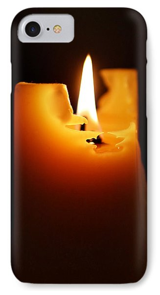 Candlelight Phone Case by Rona Black