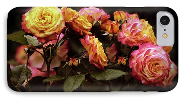 Candlelight Rose  IPhone Case by Jessica Jenney