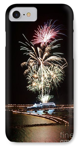 IPhone Case featuring the photograph Candles On The Cobb  by Gary Bridger