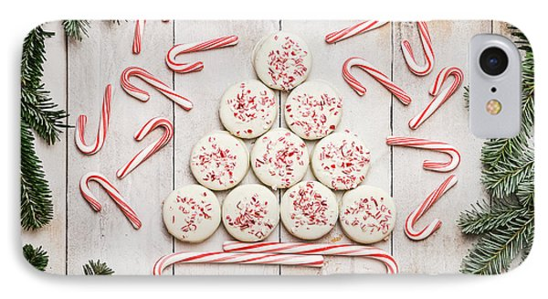 IPhone Case featuring the photograph Candy Cane Lane by Kim Hojnacki