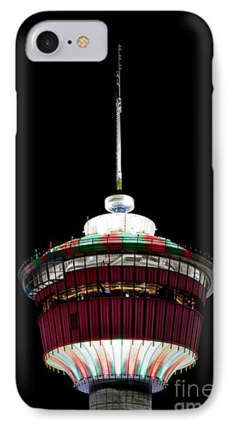 IPhone Case featuring the photograph Candy Cane Tower by Brad Allen Fine Art
