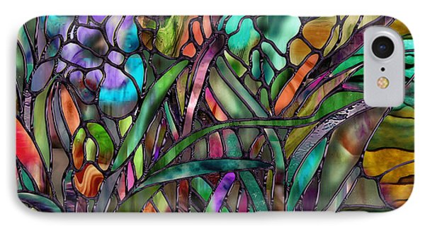 Candy Coated Irises IPhone Case by Mindy Sommers