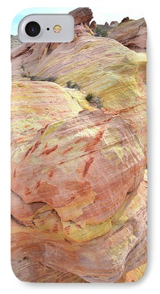 IPhone Case featuring the photograph Candy Colored Sandstone In Valley Of Fire by Ray Mathis