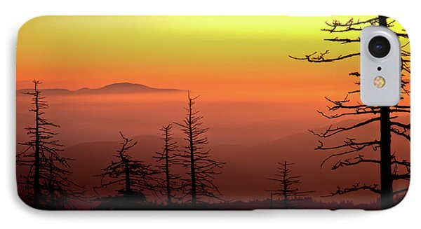 IPhone Case featuring the photograph Candy Corn Sunrise by Douglas Stucky