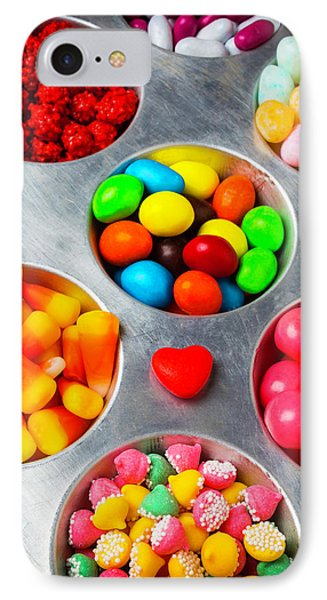 Candy Heart And Tray IPhone Case by Garry Gay
