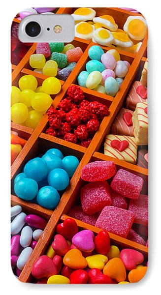 Candy In Compartments IPhone Case by Garry Gay