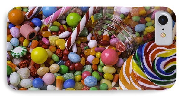 Candy Jar IPhone Case by Garry Gay