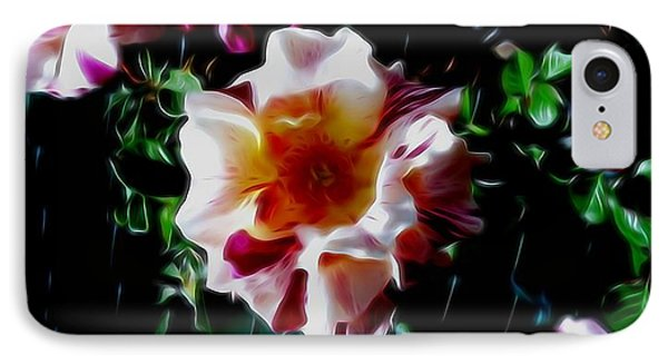 'candy Land' Rose In Abstract IPhone Case