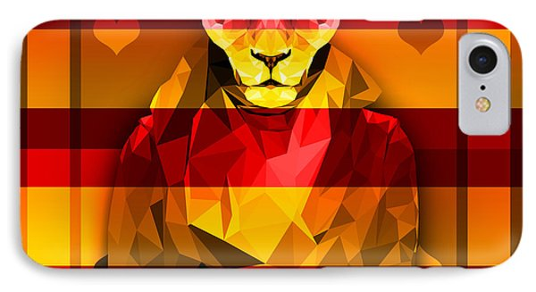 Candy Lioness IPhone Case by Gallini Design