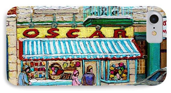 Candy Shop Phone Case by Carole Spandau