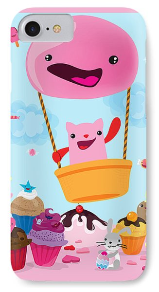 Candy World IPhone Case by Seedys World