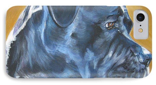 Cane Corso Phone Case by Lee Ann Shepard
