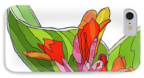Canna Bud IPhone Case by Jamie Downs