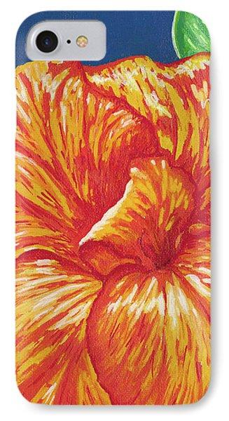 Canna Flower Phone Case by Adam Johnson