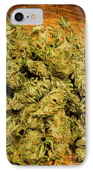 Cannabis Bowl IPhone Case by Jorgo Photography - Wall Art Gallery