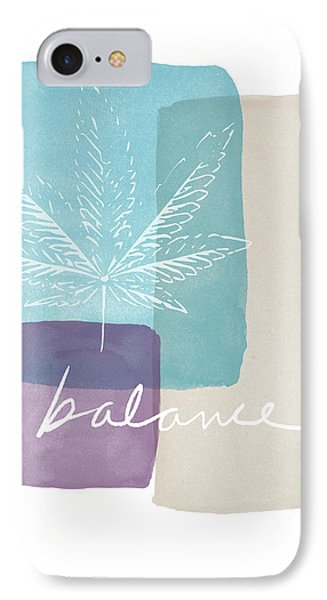 Cannabis Leaf Watercolor 3- Art By Linda Woods IPhone Case by Linda Woods