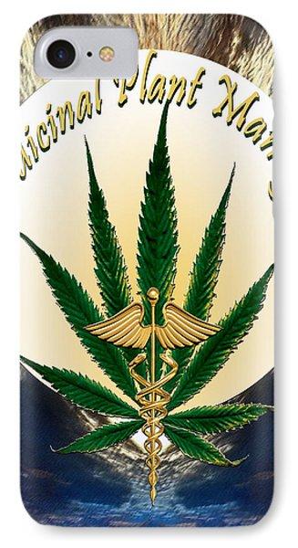 Cannabis Medicinal Plant IPhone Case