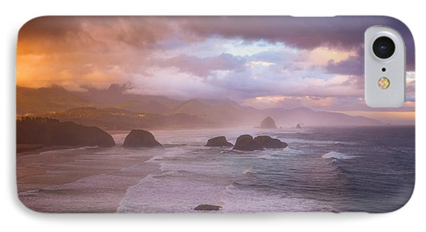 Cannon Beach Sunrise Storm IPhone Case