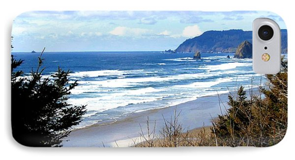 Cannon Beach Vista IPhone Case by Will Borden