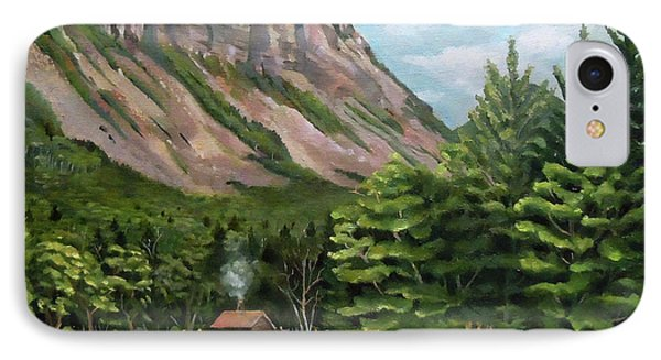 Cannon Cliff New Hampshire IPhone Case by Nancy Griswold