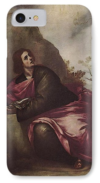 Cano Alonso St John The Evangelist On Pathmos IPhone Case