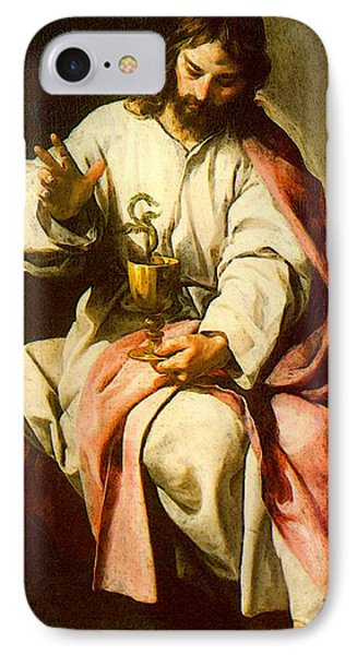 Cano Alonso St John The Evangelist With The Poisoned Cup IPhone Case