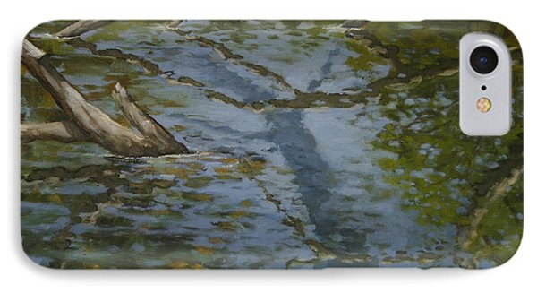 Canoe Painting 1 IPhone Case