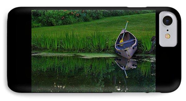 Canoe Reflection IPhone Case