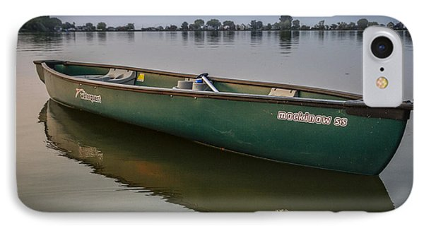 Canoe Stillness IPhone Case