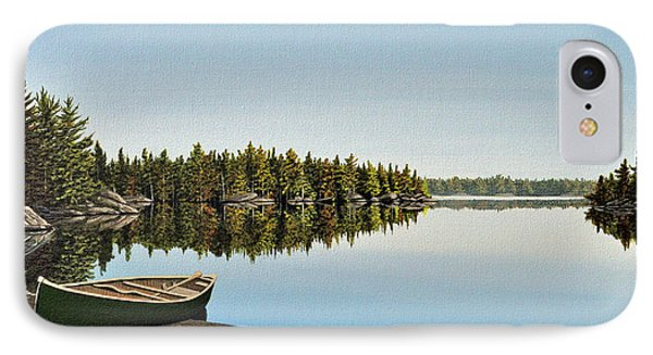 Canoe The Massassauga Phone Case by Kenneth M  Kirsch