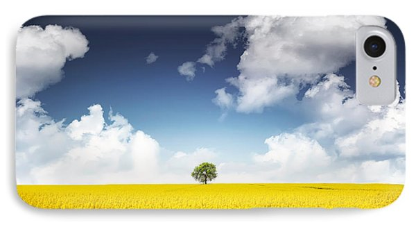 Canola Field IPhone Case by Bess Hamiti