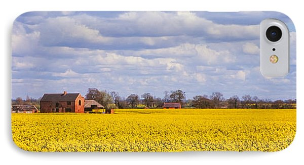 Canola Field Phone Case by John Edwards