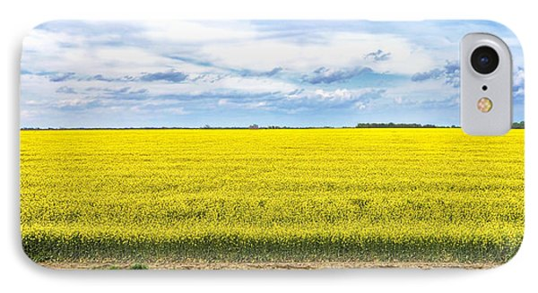IPhone Case featuring the photograph Canola Field - Photography by Ann Powell