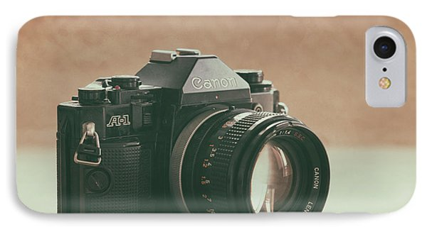 IPhone Case featuring the photograph Canon A1 by Ana V Ramirez