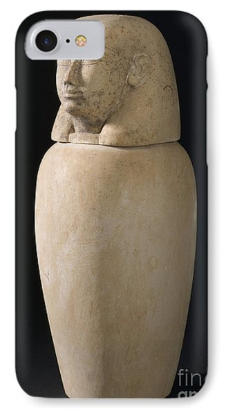 Canopic Jar, Egypt, 2000 Bce-100 Ce IPhone Case by Wellcome Images
