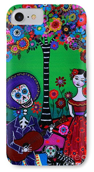 IPhone Case featuring the painting Serenata Especial Para Axl by Pristine Cartera Turkus