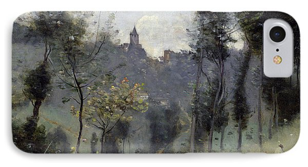 Canteleu Near Rouen IPhone Case by Jean Baptiste Camille Corot