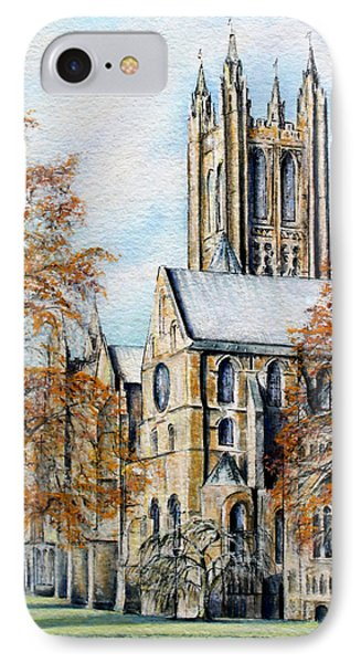 Canterbury Cathedral IPhone Case by Rosemary Colyer