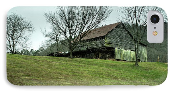 Cantilever Barn Sevier County Tennessee IPhone Case by Douglas Barnett