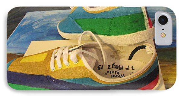 Canvas Shoe Art 003 IPhone Case