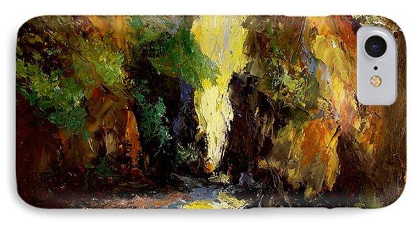 Canyon Creek IPhone Case by Gail Kirtz